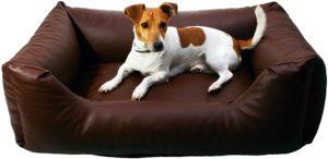 Hundebett Kunstleder e-Dogbed Mario
